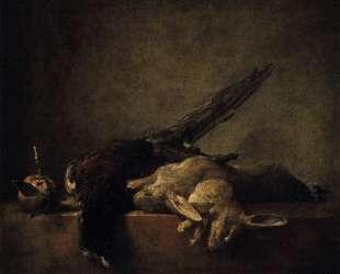 Still Life with Pheasant — Жан Батист Симеон Шарден