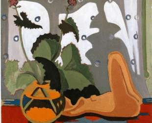 Still Life with Sculpture in front of a Window — Эрнст Людвиг Кирхнер