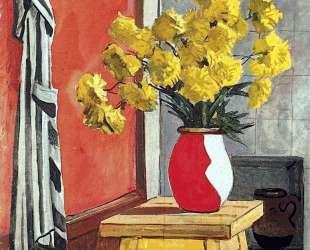Натюрморт. Жёлтые цветы — Александр Дейнека