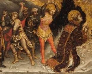 Побивание камнями Св. Стефана — Паоло Уччелло