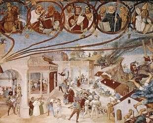 Stories of St Barbara — Лоренцо Лотто