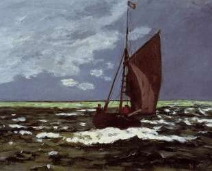 Бурный пейзаж — Клод Моне