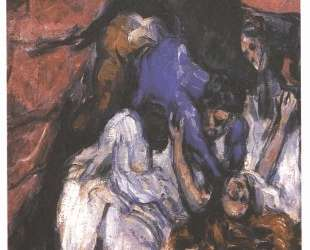 Strangled woman — Поль Сезанн
