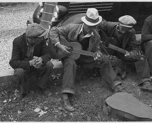 Street musicians in Maynardville — Бен Шан