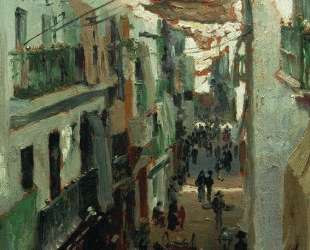 Змеиная улица в Севилье — Илья Репин