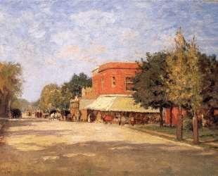 Street Scene — Теодор Клемент Стил