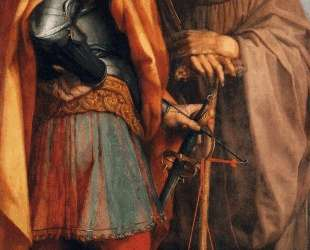 Sts Michael and John Gualbert — Андреа дель Сарто