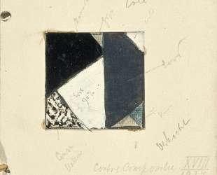 Studie voor Contra compositie XVIII — Тео ван Дусбург