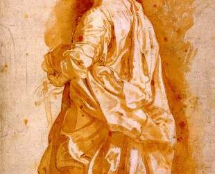 Study for a Standing Female Saint — Питер Пауль Рубенс