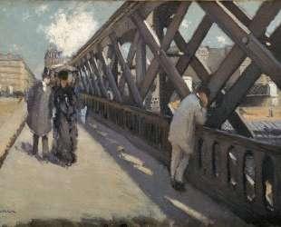 Study for Le Pont de l'Europe — Гюстав Кайботт