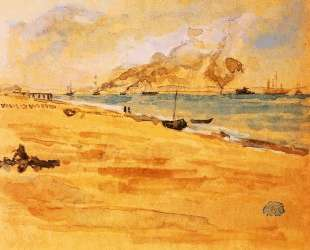 Study for Mouth of the River — Джеймс Эббот Макнил Уистлер