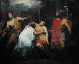Study for the Death of Lucretia — Пьер-Нарцисс Герен