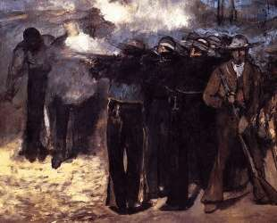 Study for 'The Execution of Emperor Maximilian' — Эдуард Мане