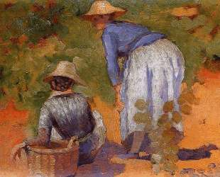 Study for The Grape Pickers — Анри Эдмон Кросс