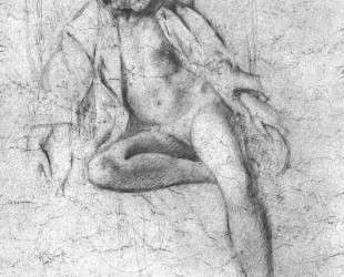 Study for the painting 'Nude Resting' — Бальтюс