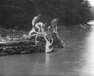 Study for The Swimming Hole — Томас Икинс