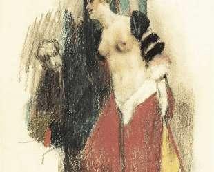 Study for The Temptation of Saint Anthony — Фелисьен Ропс