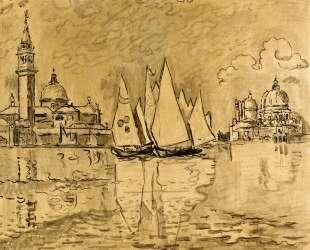 Study for Venice, Morning — Поль Синьяк