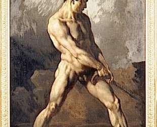 Study of a Male Nude — Теодор Жерико