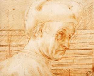 Study of a Man Wearing a Hat — Джакопо Понтормо