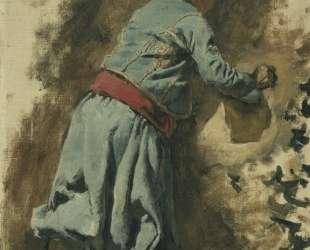 Study of a Moor in Blue — Эдвин Лорд Уикс