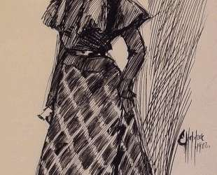 Study of a Standing Woman — Эдвард Хоппер
