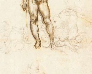 Study of David by Michelangelo — Леонардо да Винчи