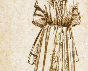 Study of the Hanged Bernardo di Bandino Baroncelli, assassin of Giuliano de Medici — Леонардо да Винчи