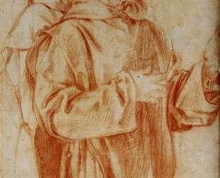 Study of Two Carthusian Monks — Джакопо Понтормо