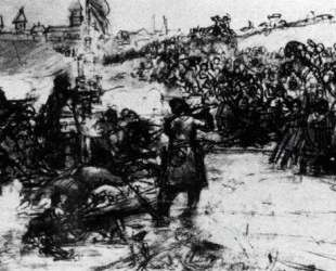 Study to 'The Conquest of Siberia by Yermak' — Василий Суриков