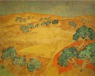 Summer landscape — Пабло Пикассо