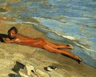 Sun bathing — Николаос Литрас