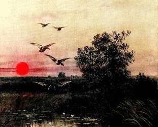 Sunset over the Lake — Ефим Волков