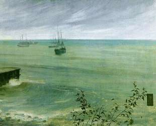 Symphony in Grey and Green: The Ocean — Джеймс Эббот Макнил Уистлер