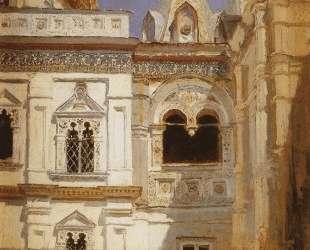 Теремной дворец. Наружный вид — Василий Поленов