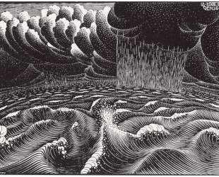 The 2nd Day of the Creation — Мауриц Корнелис Эшер