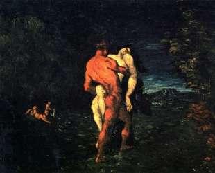 The Abduction — Поль Сезанн