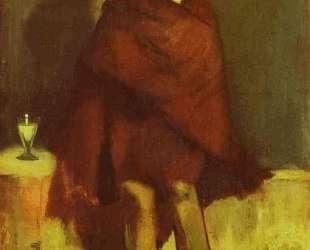The absinthe drinker — Эдуард Мане
