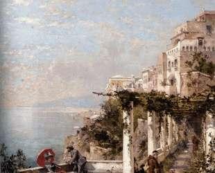 The Amalfi Coast — Франц Рихард Унтербергер