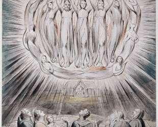 Явление ангелов пастухам — Уильям Блейк