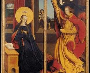 The Annunciation — Бернхард Штригель