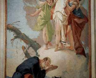 The appearance of the angels to Abraham — Джованни Баттиста Тьеполо