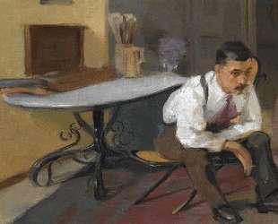 The Artist in his Studio — Николаос Литрас