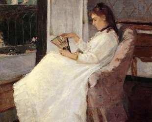 The Artist's Sister at a Window — Берта Моризо