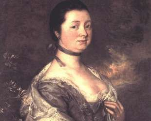 The Artist's Wife — Томас Гейнсборо
