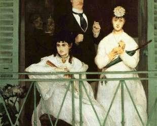 The Balcony — Эдуард Мане
