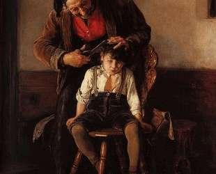 The barber — Николаос Гизис