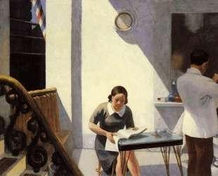 The Barber Shop — Эдвард Хоппер