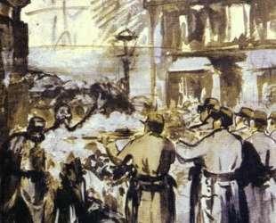 The Barricade (Civil War) — Эдуард Мане