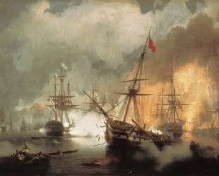 Морское сражение при Наварине — Иван Айвазовский